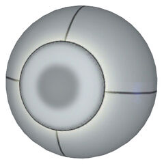 Esfera, en reemplazo del cubo de la cámara de pruebas 17 en las cámaras avanzadas