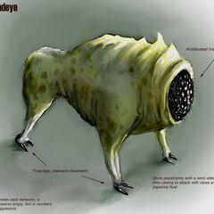 Concepto de arte del Houndeye