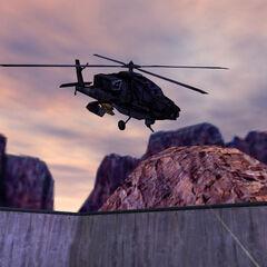 Apache Negro de los Black Ops