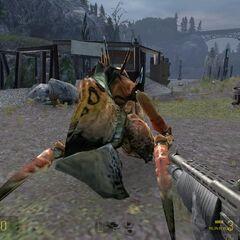 Cadáver de un Antlion Guardian en <a href=