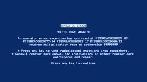 Portal - Blue Screen