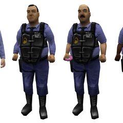Todos los modelos de Guardias de seguridad