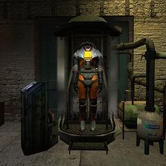 Mark V visto por primera vez en Half-Life 2