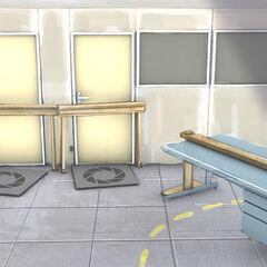 Arte conceptual de un corredor de oficinas, revelado en el ARG <i>PotatoFOolsDay</i>