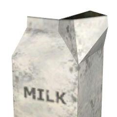 Cartones de leche que se encuentran en las casas de Rattman.