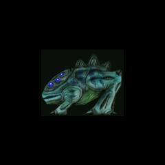 variante de piel azul