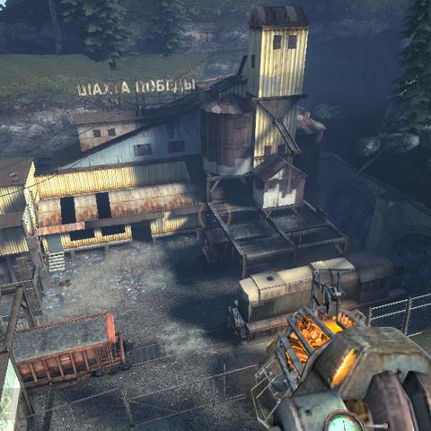 zona exterior de Victory Mine