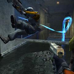 Soldado atacado por la Hydra