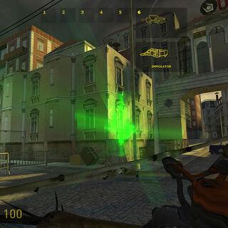 Mapa de muestra E3 Strider Immolator