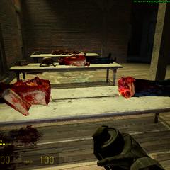 Zombie dividido en 2