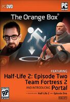 The orange box pc dvd box art