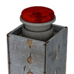 El interruptor como lo fue en la década de 1950, como se ve en la prueba antigua 09 en <a href=