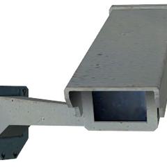 Modelo de Counter-Strike: Source de la cámara de Seguridad encontrado en las versiones en desarrollo de Portal
