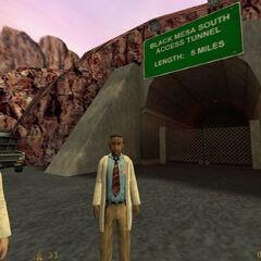 Túnel de Acceso Sur a Black Mesa
