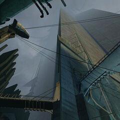 La ciudadela vista desde abajo