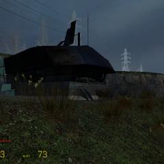 Bunker Combine en la costa.