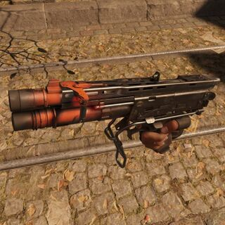 Escopeta con doble disparo