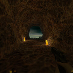 Salida del sistema de tuneles