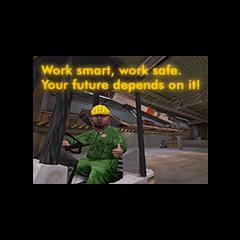 Aviso de seguridad (Notese que es el lema de Black Mesa al revés)