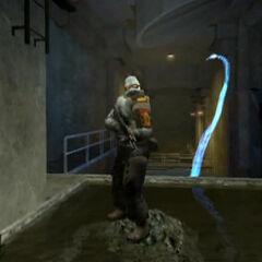 Soldado antes del ataque de la Hydra