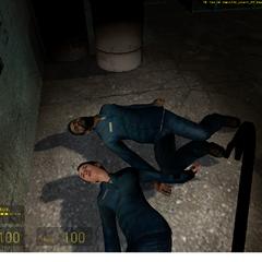 Pareja de ciudadanos asesinados por zombies