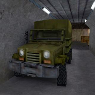 Camión Estacionado en Black Mesa