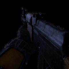 Vista en Primera Persona del AK-47