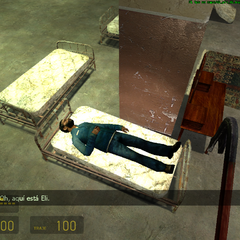 Ciudadano descansando