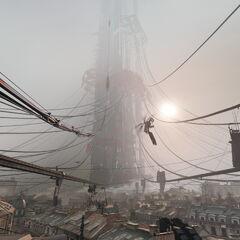 La Ciudadela en construcción en Half-Life: Alyx