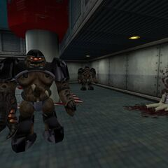 Alien Grunts en Black Mesa