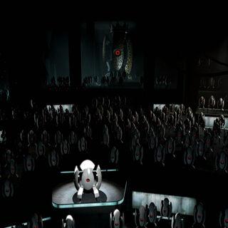La Ópera de las Torretas, con la Torreta Rey Animal proveyendo las notas graves