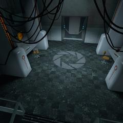 Lobby de la cámara central de IA