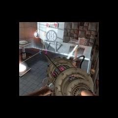 Una versión pre-lanzamiento de la Pistola de Portales.