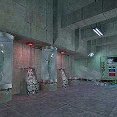 Lanzadores de Esporas almacenados en Black Mesa