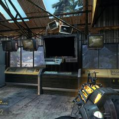 Base de Comunicaciones abandonada en Half-Life 2: Episode Two