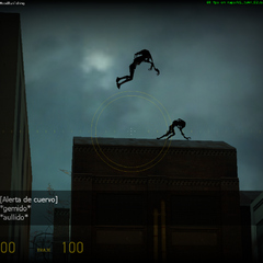 Fast zombies saltando