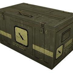 Caja grande de Munición
