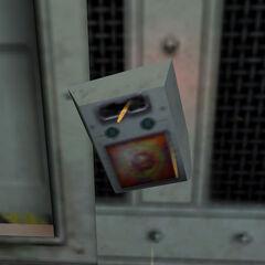 Escáner destruido en el Espectrómetro de Anti-Materia