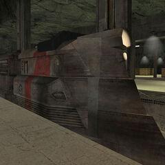 Tren Razor en el mismo mapa.