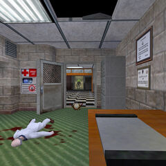 Oficinas del Sector D, luego del Incidente