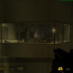 Sala de vigilancia en el bloque B4.