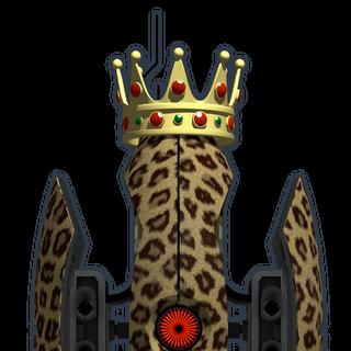 Versión pequeña de la torreta rey animal