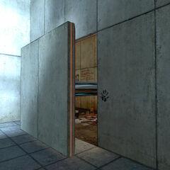 La entrada a la segunda madriguera de Rattman, ubicada en la Cámara de Pruebas 17