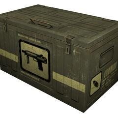 Caja grande de munición del Lanzagranadas