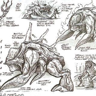Conceptos de arte del Gargantua