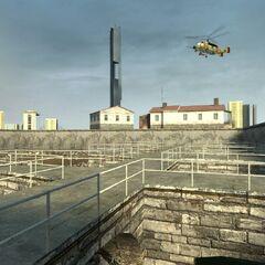 El Helicóptero-Cazador original en el jugable <a href=