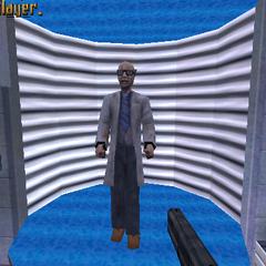 Científico de Half-Life Alpha
