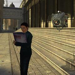 Escáner siguiendo a un Ciudadano