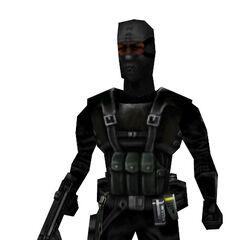 Modelo de Asesino Black Ops afro-americano