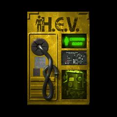 Textura del Cargador HEV de Half-Life 2 Beta